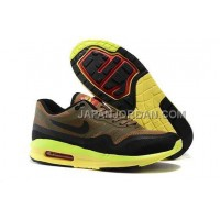 Nike Air Max Lunar 1 Mens Brown Black Green オンライン