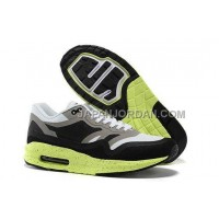 Nike Air Max Lunar 1 Mens Grey White Black Green オンライン