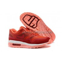Nike Air Max Lunar 1 Womens Red White Pink 新着