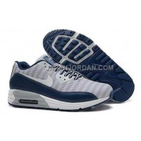 Nike Air Max Lunar 90 Men Dark Blue Gray 送料無料
