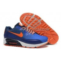 Nike Air Max Lunar 90 Men Dark Blue Orange 送料無料