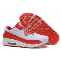 Nike Air Max Lunar 90 Men White Orange Red 送料無料