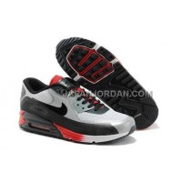 Nike Air Max Lunar 90 Womens White Black Red 送料無料