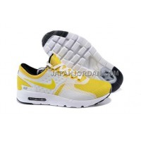 Nike Air Max Zero Mens Yellow White オンライン