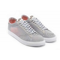 ホット販売 Nike Blazer 2013 Breathable Mesh Low Womens Light Gray Shoes