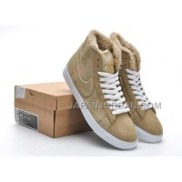 Nike Blazer High Mens Wool Khaki Shoes 格安特別