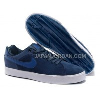 本物の Nike Blazer Low 1972 Anti-Fur Mens Dark Blue Shoes