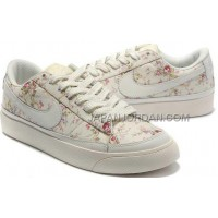 Nike Blazer Low 3s Casual Womens White Rose Shoes 格安特別