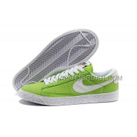 Nike Blazer Low Canvas Classic Womens Green Shoes 格安特別