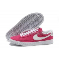 Nike Blazer Low Canvas Classic Womens Red Shoes 格安特別