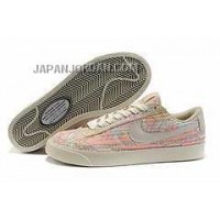 Nike Blazer Low Leather Womens Bamboo Shoes 格安特別