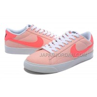 ホット販売 Nike Blazer Low New 3s Womens Pink Shoes