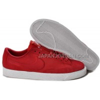Nike Blazer Low Suede VT Womens Gym Red Shoes 割引販売