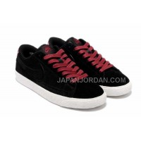 Nike Blazer Low Suede VT Womens Red Shoes 割引販売