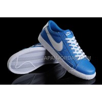 ホット販売 Nike Blazer Low VNTG NRG Womens In Blue Shoes