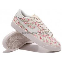 Nike Blazer Low Womens Liberty Plum Blossom Floral Print Shoes 割引販売