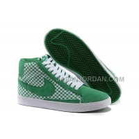 Nike Blazer Mid Woven Mens Green Shoes 格安特別