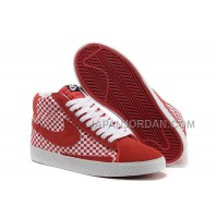 Nike Blazer Mid Woven Mens Red Shoes 格安特別
