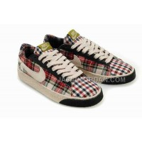 Nike Blazer Suede Vintage Low Mens Grid Red Shoes 格安特別