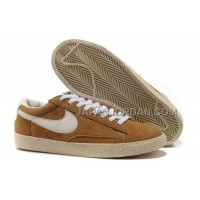 Nike Blazer Suede Vintage Low Womens Premium Khaki Shoes 格安特別