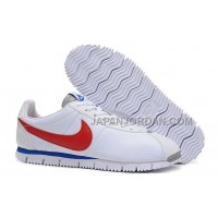 Nike Classic Cortez NM QS Mens White Blue Red 割引販売