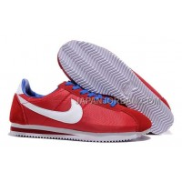 Nike Classic Cortez Nylon Mens Red White Blue 本物の