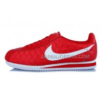 Nike Classic Cortez Nylon Womens All Red White 新着