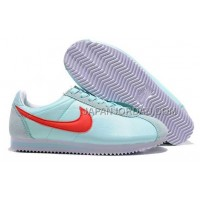 新着 Nike Classic Cortez Nylon Womens Baby Blue Red