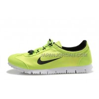 新着 Nike Classic Cortez Nylon Womens Lemon Green