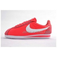 新着 Nike Cortez Oxford Cloth Men Shoes Red Alert