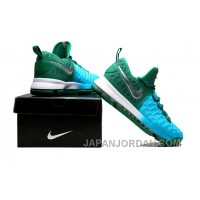 NIke Durant 9 Woven New Color Green Sky Blue