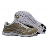 Nike Free 3.0 V4 Mens Light Bone Reflect Silver Iguana Shoes 本物の