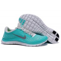 Nike Free 3.0 V4 Mens New Green Reflect Silver Pure Platinum Shoes 本物の