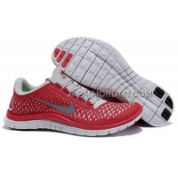 Nike Free 3.0 V4 Mens Red Shoes 本物の
