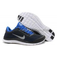 Nike Free 3.0 V5 Mens Black Blue Shoes 本物の
