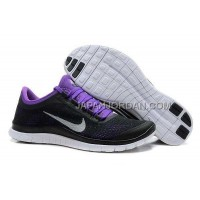 Nike Free 3.0 V5 Mens Black Purple Shoes 本物の