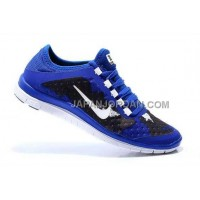 Nike Free 3.0 V7 Mens Bright Royal Blue Hyper White Shoes 本物の