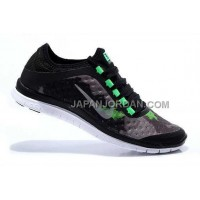 Nike Free 3.0 V7 Mens Carbon Black Fluorescent Green Shoes 本物の