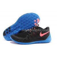 ホット販売 Nike Free 5.0 2014 Mens Black Royalblue Orange Shoes