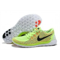 新着 Nike Free 5.0 2 Womens Fluorescence Green Red Black Shoes
