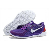 新着 Nike Free 5.0 2 Womens Purple White Shoes