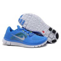 新着 Nike Free 5.0 V3 Womens Royal Blue Fluorescent Green Shoes