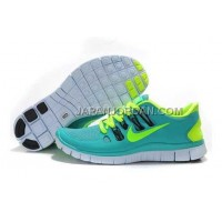 新着 Nike Free 5.0 Womens Turquoise Shoes