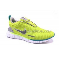 割引販売 Nike Free OG Breathe ID Mens Fluorescence Yellow Shoes