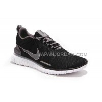 新着 Nike Free OG Breathe ID Womens Black Carbon Gray Shoes