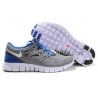 割引販売 Nike Free Run 2 Mens Gray Blue Shoes