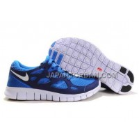 新着 Nike Free Run 2 Mens Royalblue White Shoes