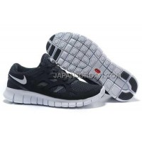 新着 Nike Free Run 2 Womens Black Gray Shoes