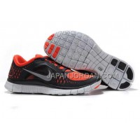 新着 Nike Free Run 3 Mens Black Orange Shoes