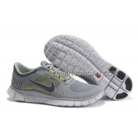 新着 Nike Free Run 3 Mens Gray Green Shoes